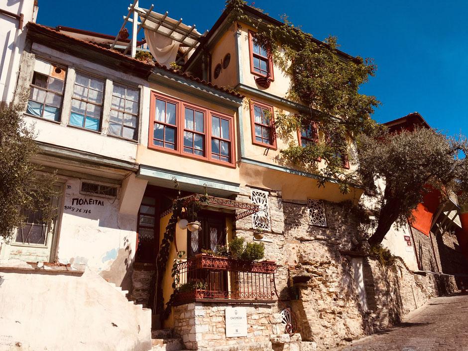 Türkenviertel in der Altstadt von Kavala