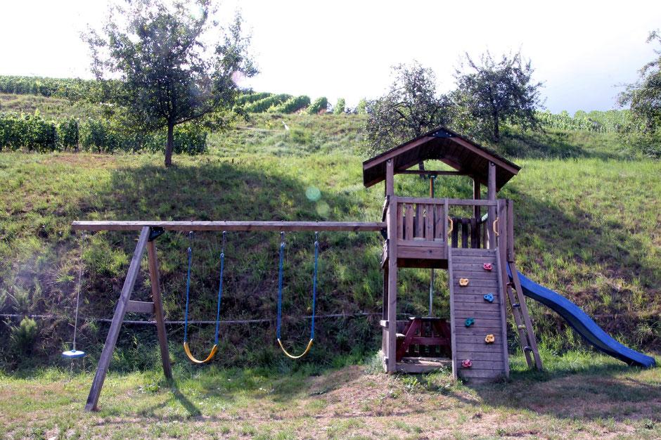 Der Spielplatz bei der Ferienwohnung in Gengenbach für unsere kleinen oder großen Gäste
