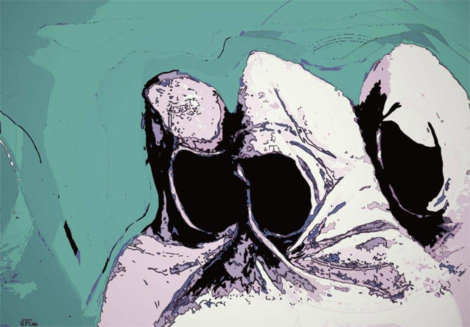 Kunstwerk: Die drei Mystiker