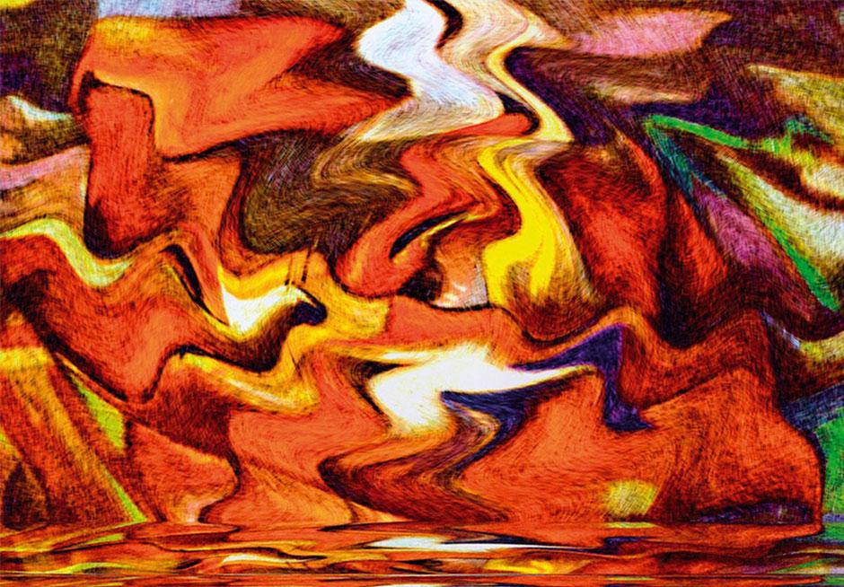 Kunstwerk: Die Mündung