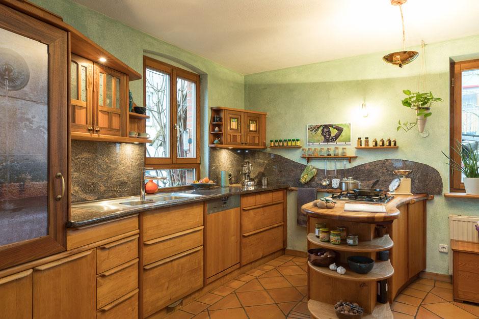 Holzküchen erle  Küchen - Tischlerei Heuberger-Schmälzle – Küchen, Türen und Fußböden ...