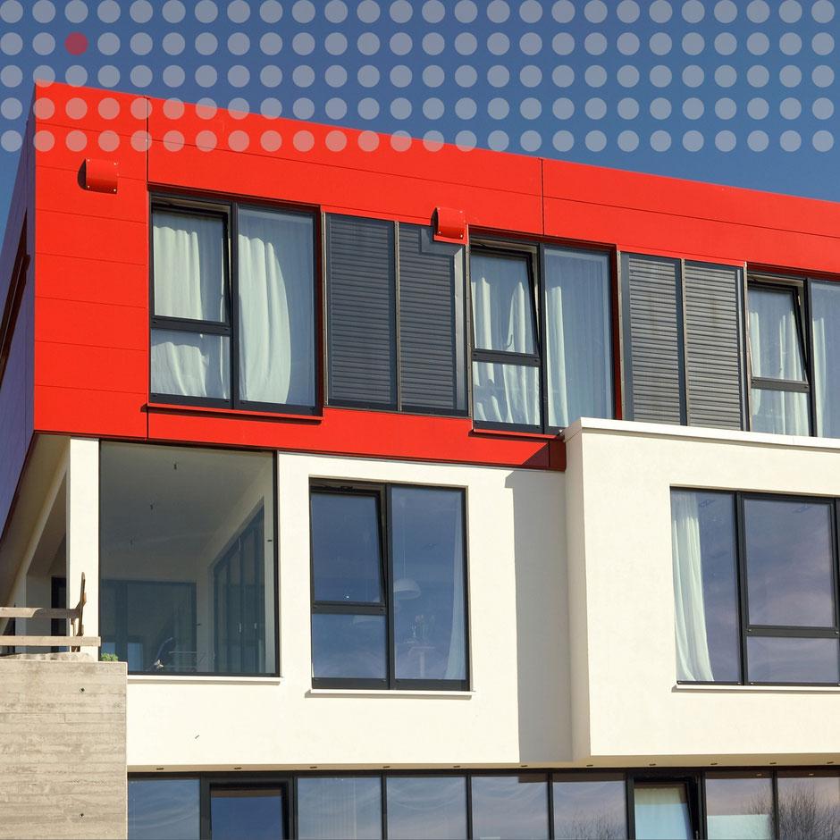 Fassadensystem Steckpaneel