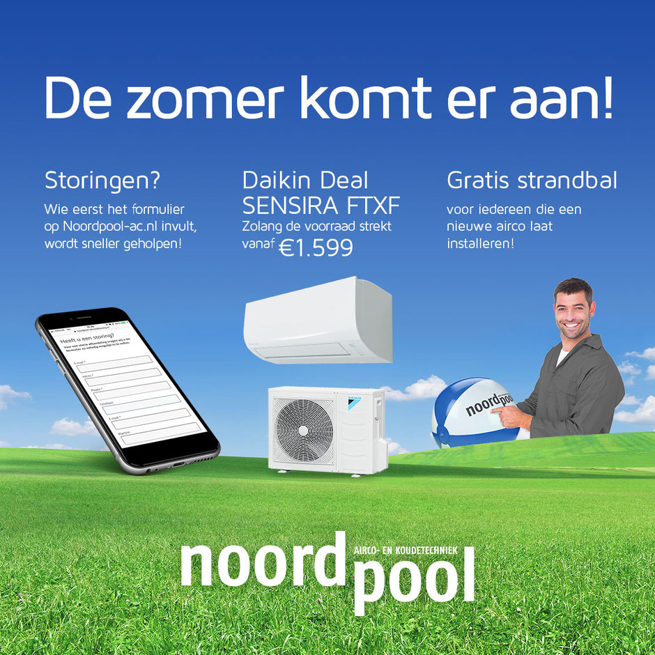 Airco storingen - storingsdienst airconditioning - Daikin aanbieding - Sensira - FTXC