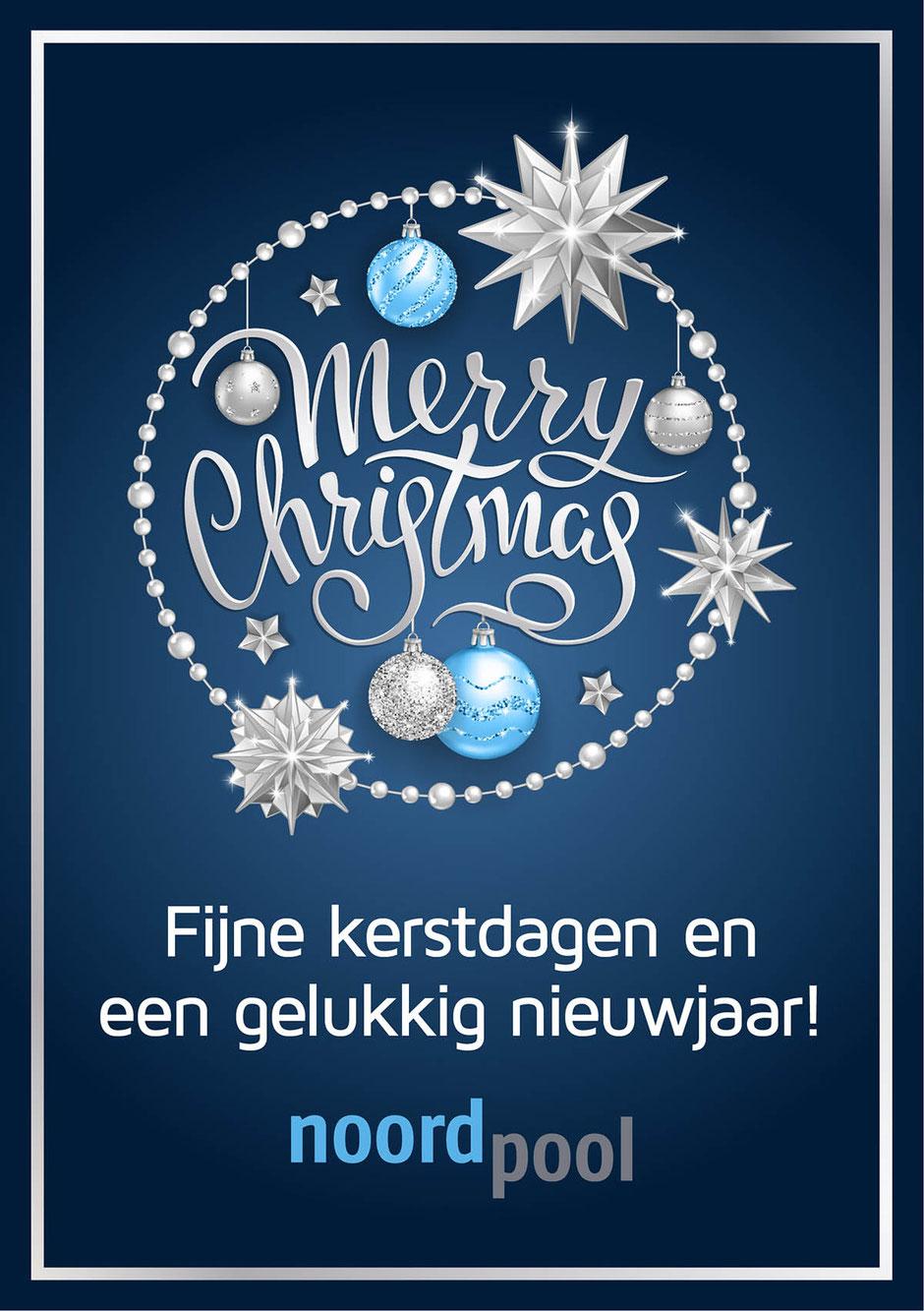 Fijne kerstdagen en een gelukkig nieuwjaar!