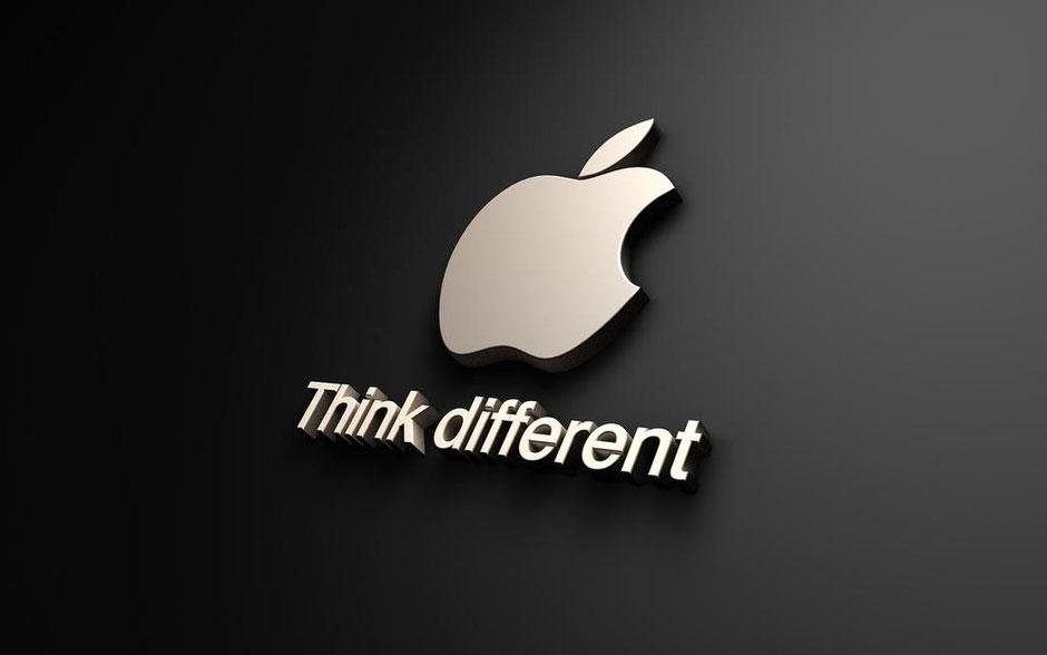 Voorbeeld huisstijl ontwerp apple