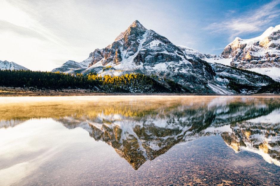 Naiset Peak in Mount Assiniboine Provincial Park