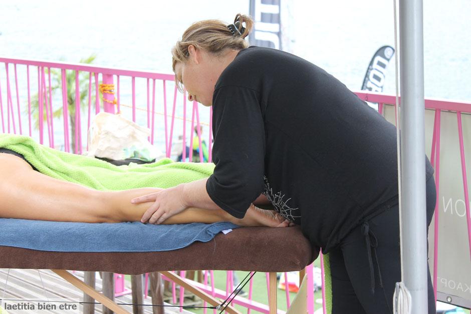 massage suédois sportif tonique