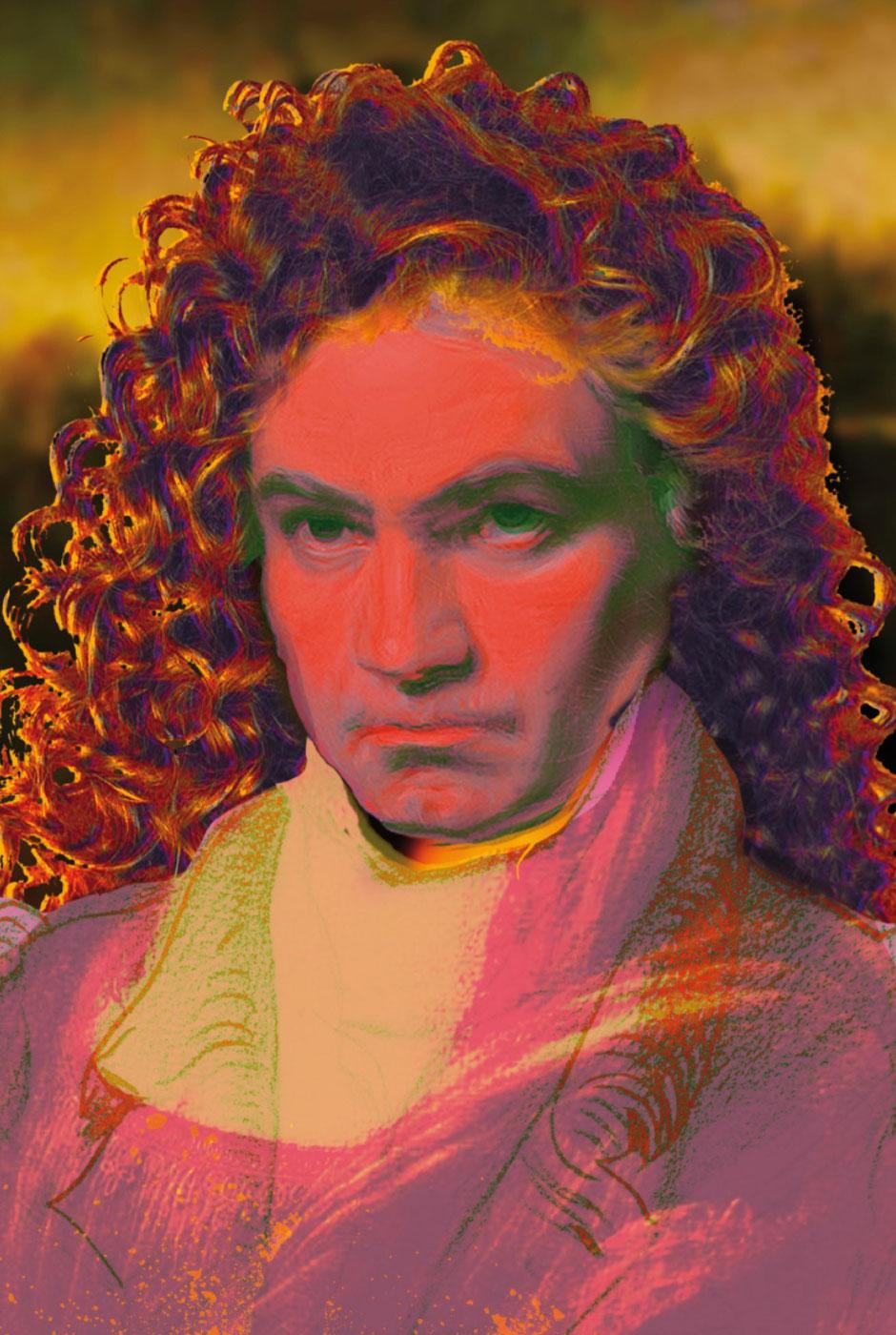 """Ludwig van Beethoven - """"Bonna Lisa"""" von Daniela Flörsheim und Achim Keinowski"""