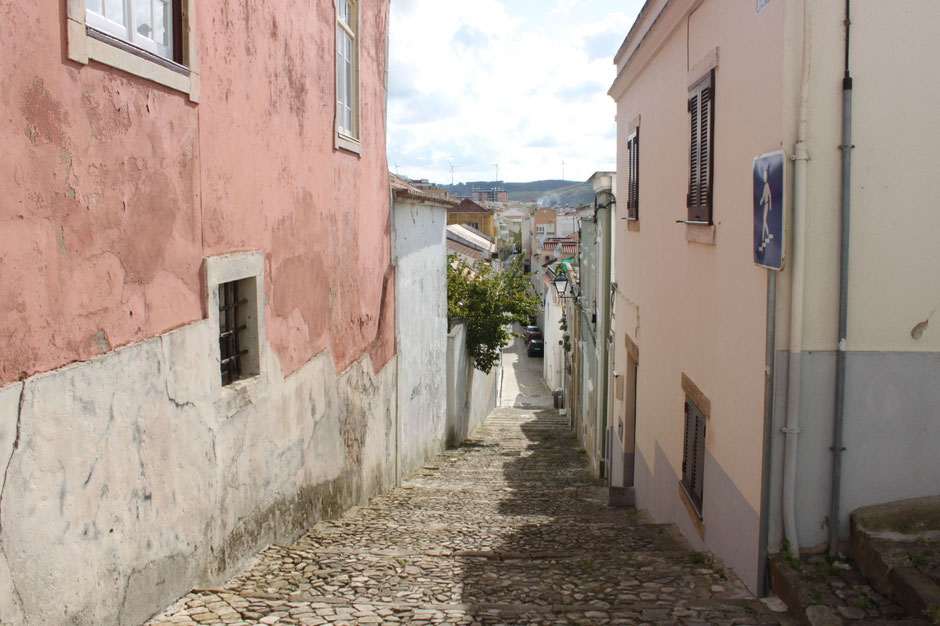 Torres Vedras, Portugal, narrow streets