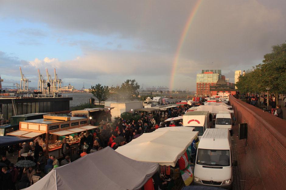 Fish market, Fischmarkt Hamburg