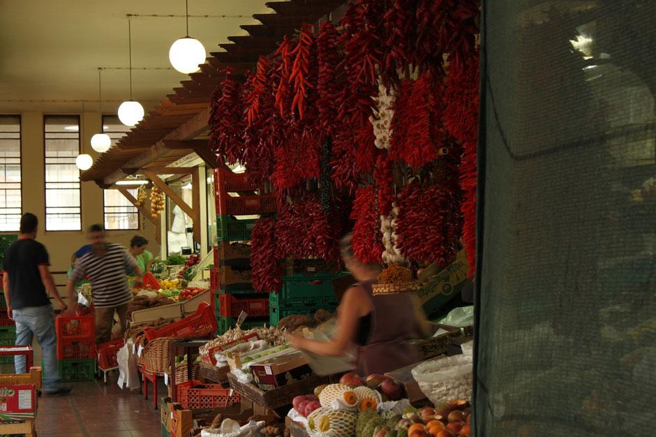 market in Funchal