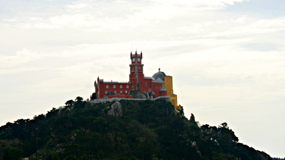 View on the Pena Palace