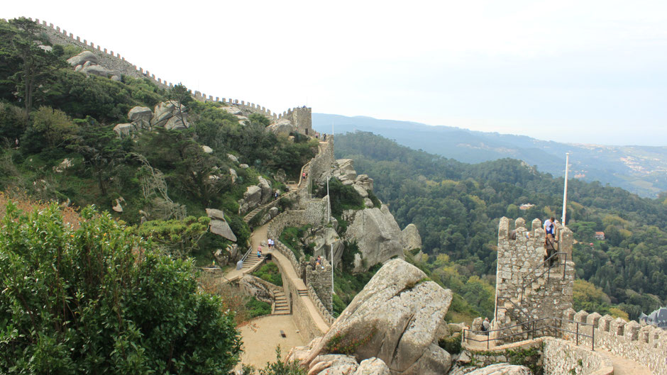 The Moorish Castle