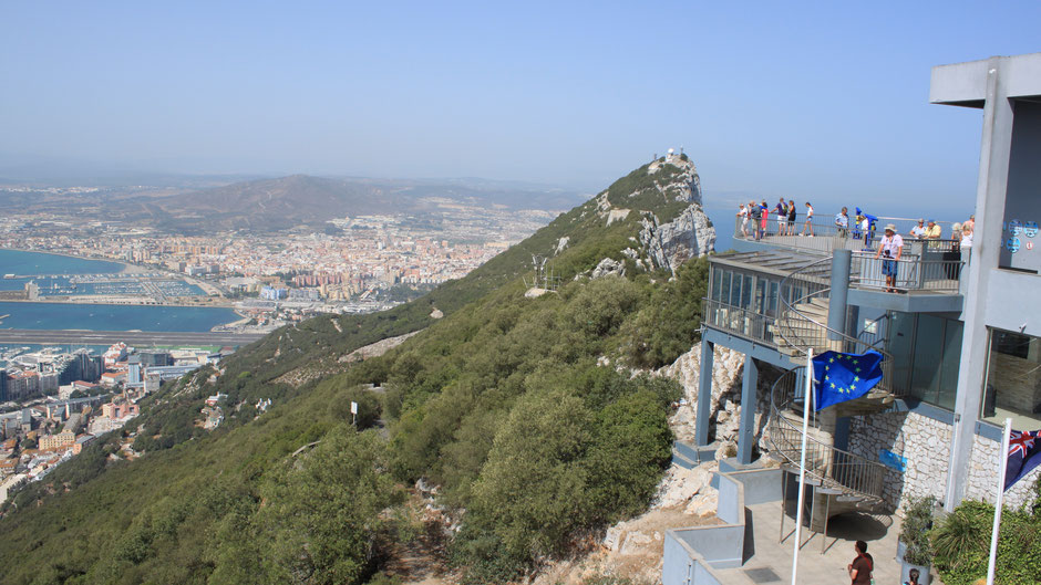 Gibraltar viewpoint, The Rock
