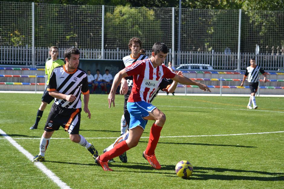 Imagen del partido entre el Torpedo y el Laudio de la temporada pasada.
