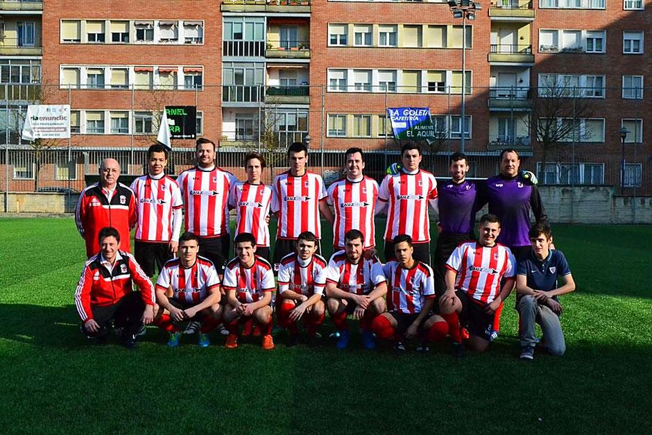 El Laudio B arrancará este sábado su participación en el Torneo Federación. Foto: Joseba Cascallana.