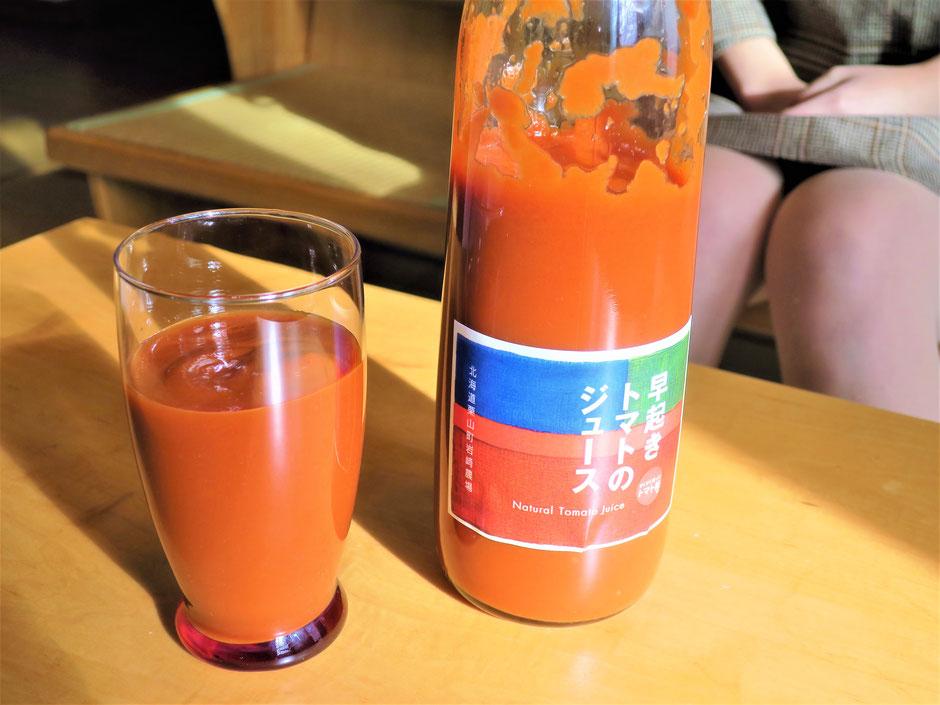 栗山町 トマトジュース