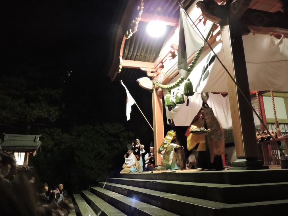北海道 栗山町 栗山天満宮 秋祭り
