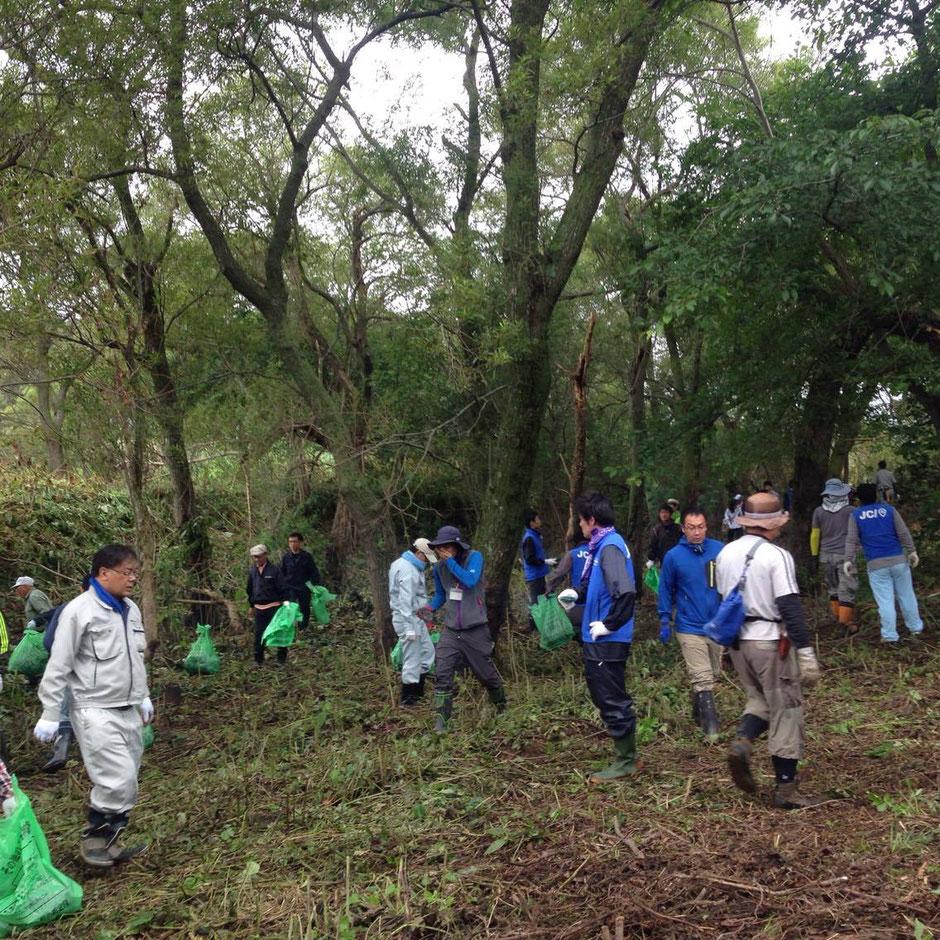 栗山町 北海道 ボランティア 清掃活動