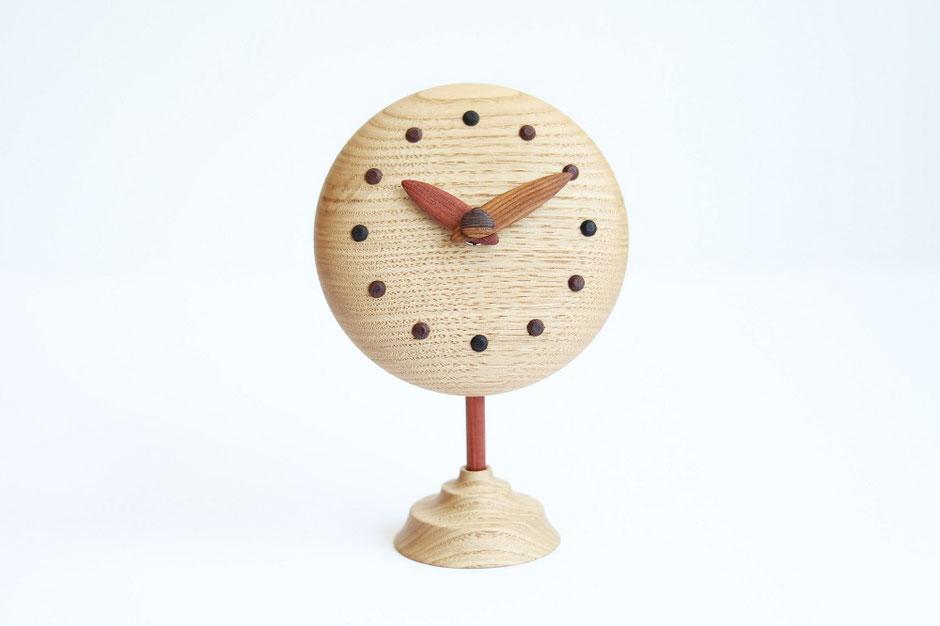 Creema×栗山町 ぷっくりキュートな置き時計