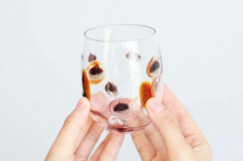 Creema×栗山町 栗のおくりものグラス