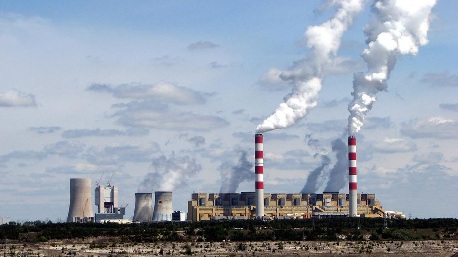 Kohlekraftwerk Polen