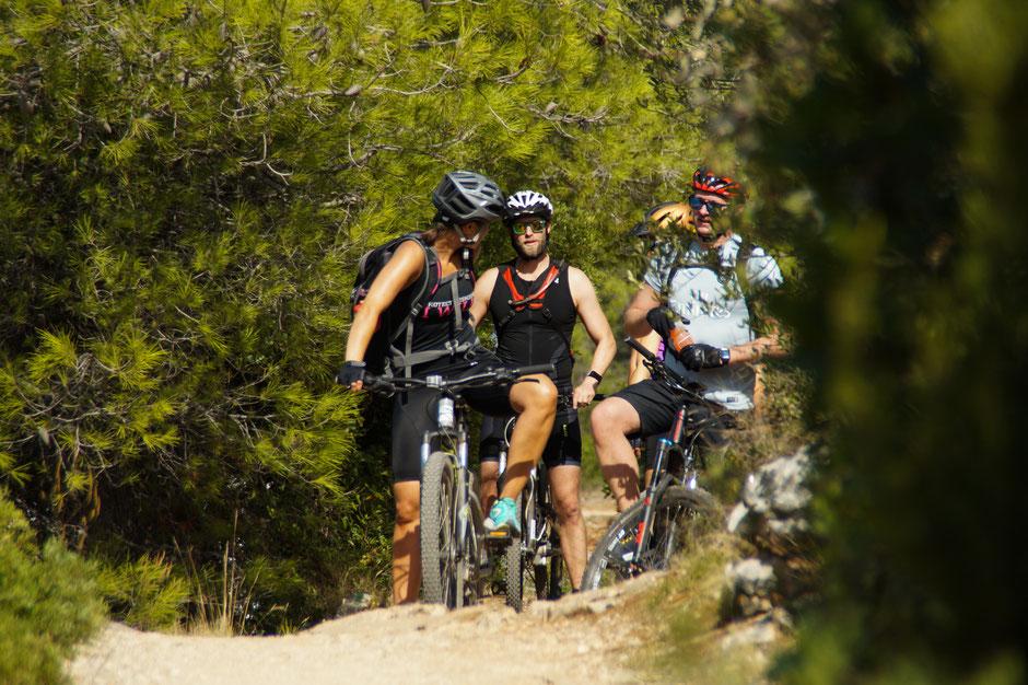 Mountainbike MTB Fahrradtour Tour Kroatien Vela Luka Fahrradreise