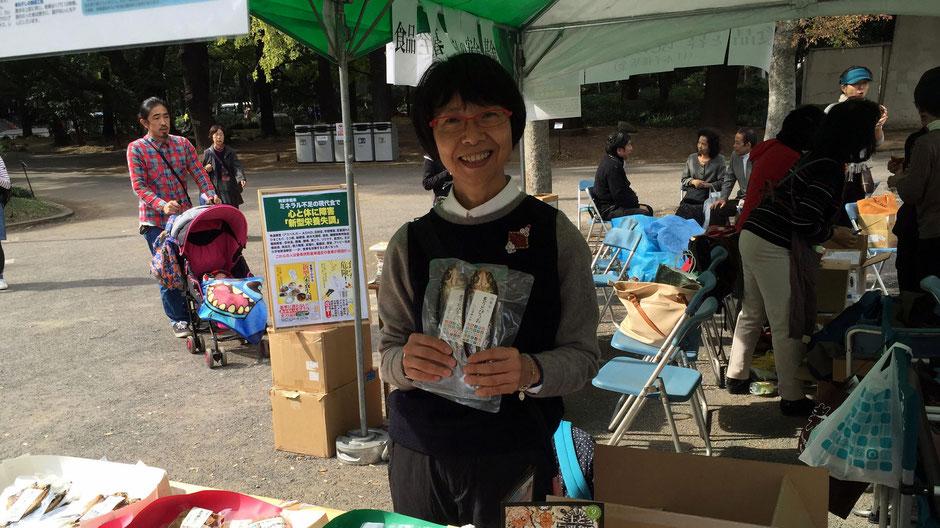 有限会社渡邊水産(島根県出雲市)常務取締役の渡邊美和子さん。「日本オリジナルの食べ物を見直すきっかけにしてほしいですね。」
