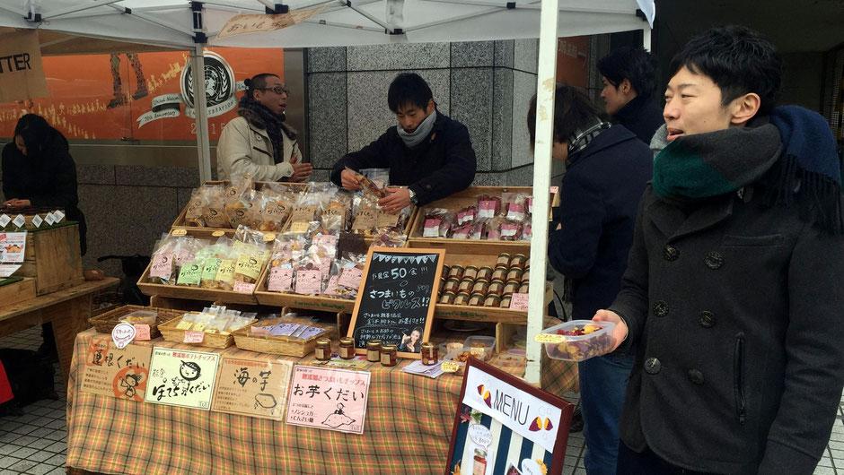 合同会社菜友館、代表の松村博行さん。お店の様子。