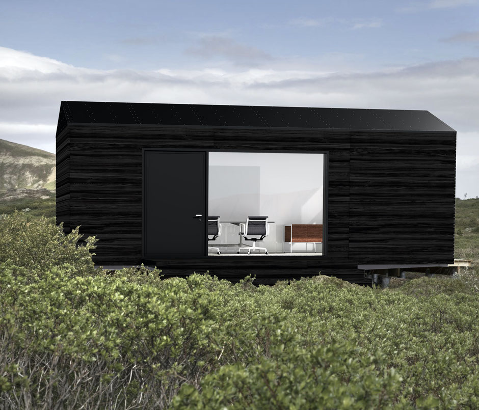 Tiny-House I Tiny-Haus I Gartenhaus I Büro I Gartenbüro I Office I Mobil I Temporär I Container I Bürocontainer