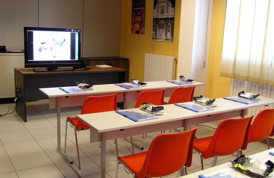 sala corsi termografia rea modena