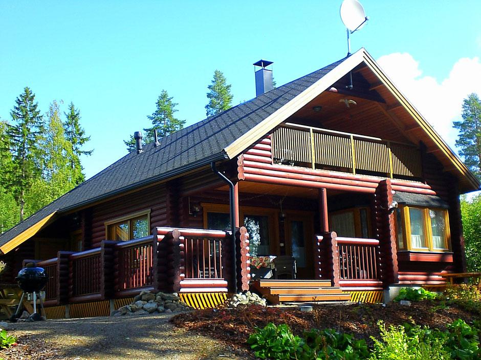 Blockhaus direkt am See.  Finnland. Sunny Mökki Sysmä