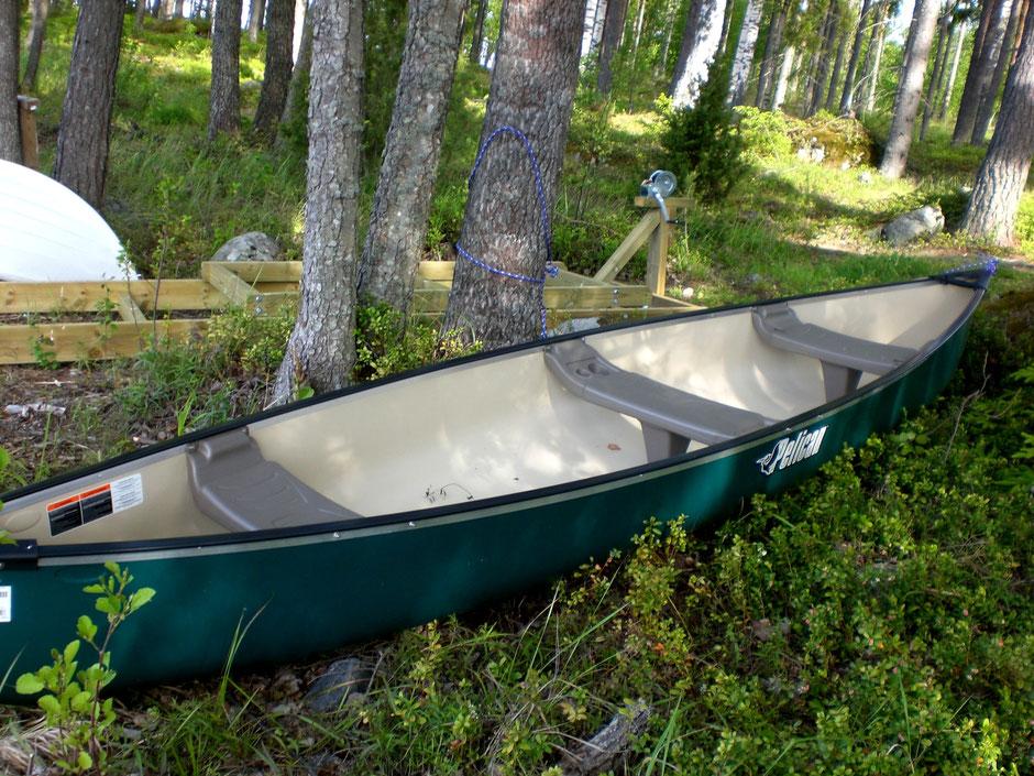 Kanu See Finnland Ferienhaus