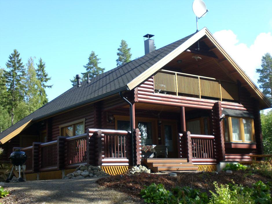 Ferienhaus am See mit Kamin, Sauna, Ruderboot von privat