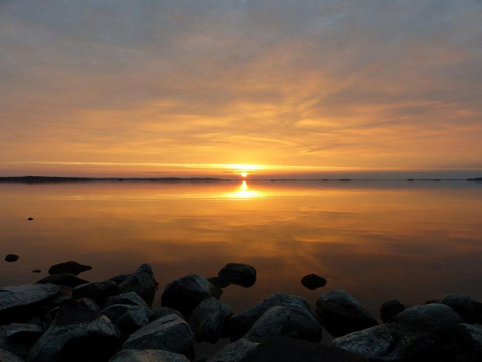 Sunset Lake Päijänne Log house Sunny Mökki Sysmä