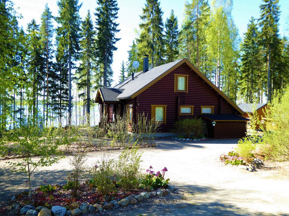 Ferienhaus direkt am See Finnland
