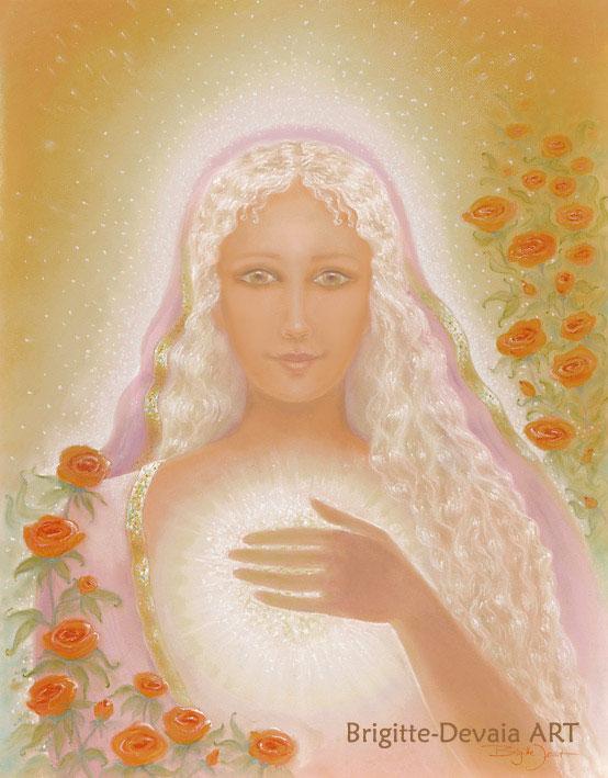 Brigitte-Devaia-ART - eingeweihte Meisterin Maria Magdalena
