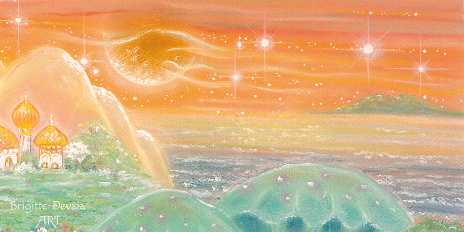 Brigitte-Devaia-ART_Sternenwelt-Venus-Bildausschnitt
