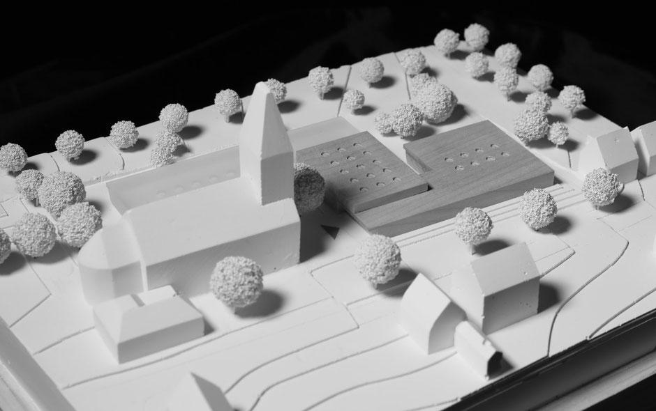 Modellfoto:  1. Preis, studio st - Wolfram Sponer + Stefan Trumpp