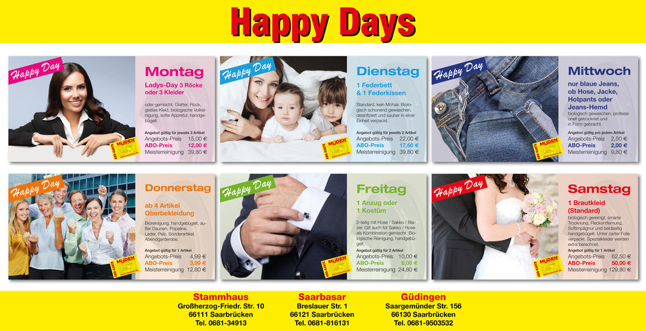 mueden.de, Presse November 2016, Plakat Happy Day quer