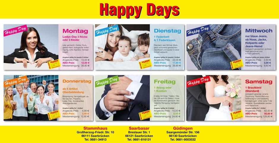 mueden.de, Presse November 2016, Plakat Happy Day quer