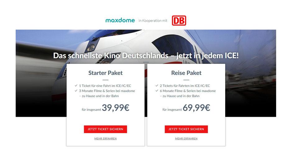 CheckEinfach   Maxdome + DB