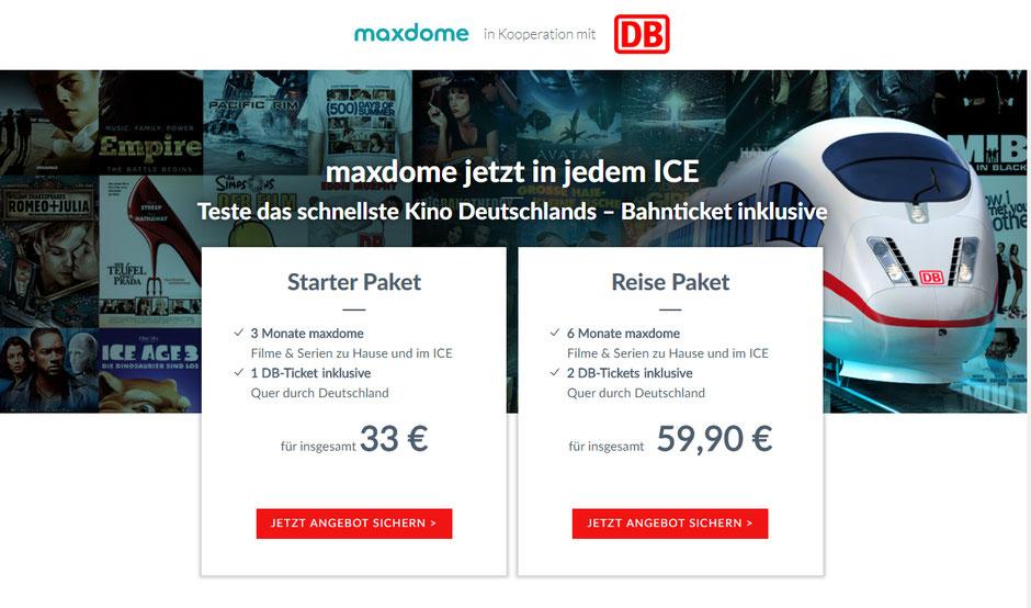 CheckEinfach | Maxdome + DB