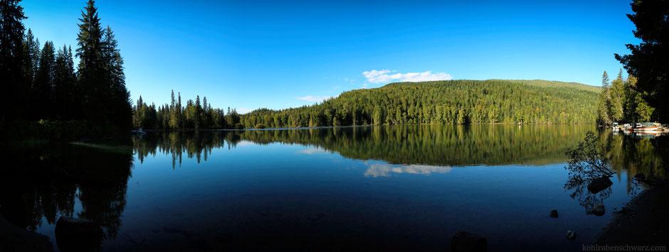 Der Clearwater Lake am Morgen