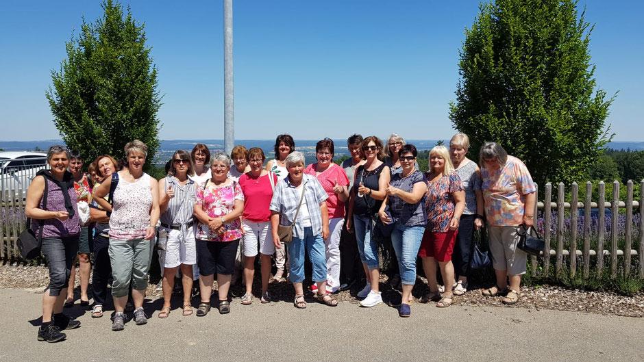 Lehrfahrt 2019 des LandFrauenverbandes Reutlingen in den benachbarten Kreis Esslingen