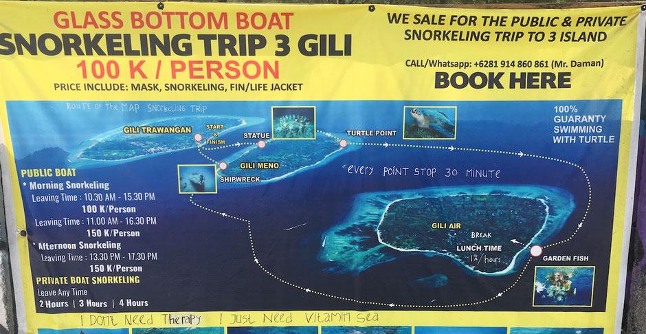 Lombok -Gili Air - Weltreise Blog und Reiseziele - Travel um die Welt