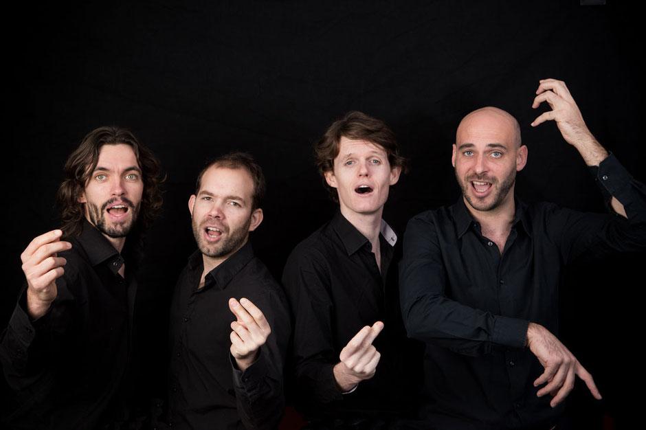 Le Quatuor vocal A'dam © Laurent Guizard