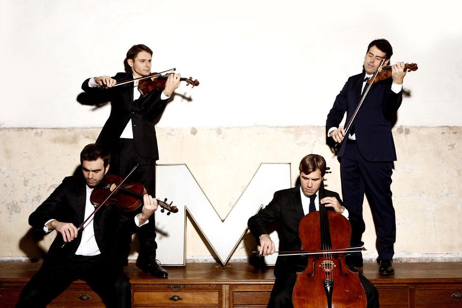 Quatuor Modigliani - Photo © Marie Staggat