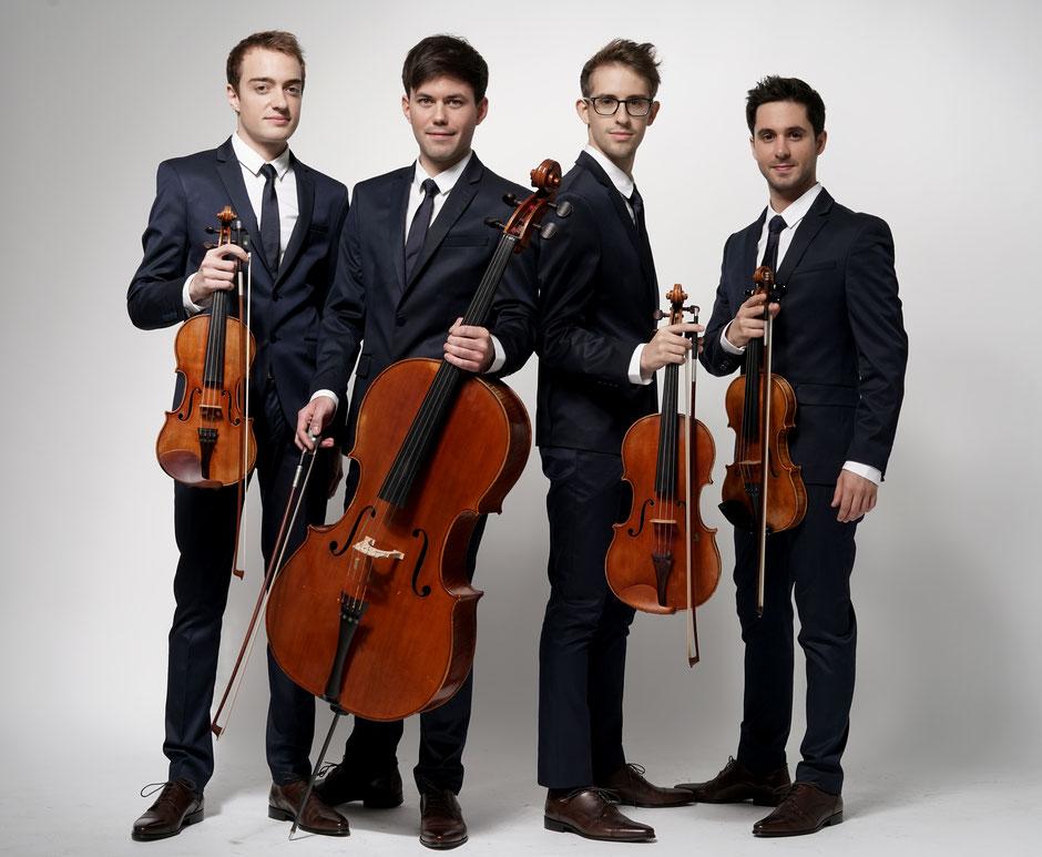 Quatuor Yako ©️ Bernard Martinez