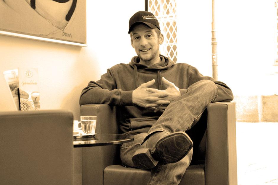 Westernreiter Reinhard Hochreiter im Interview. Foto: Maria Appenzeller